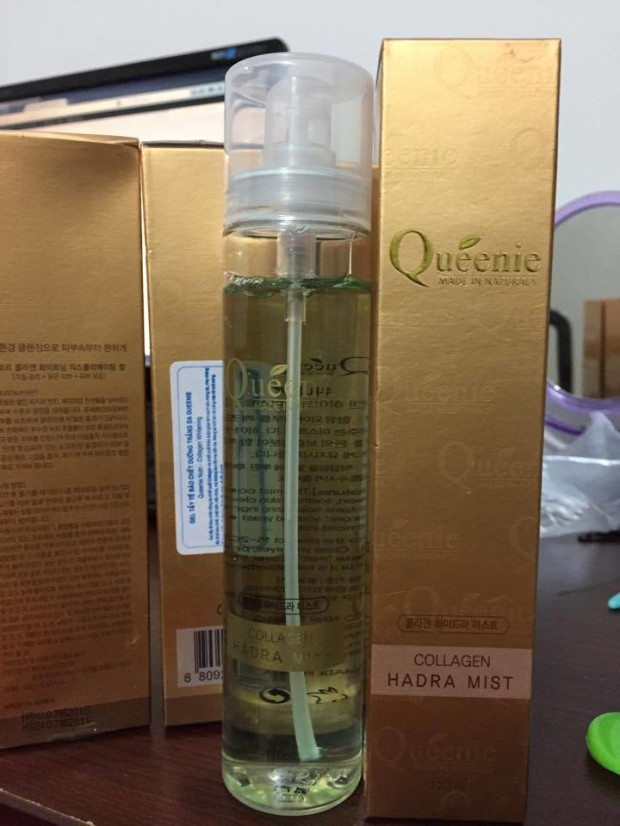 xit khoang collagen Queenie mau mới