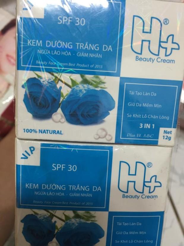 kem H + dưỡng da