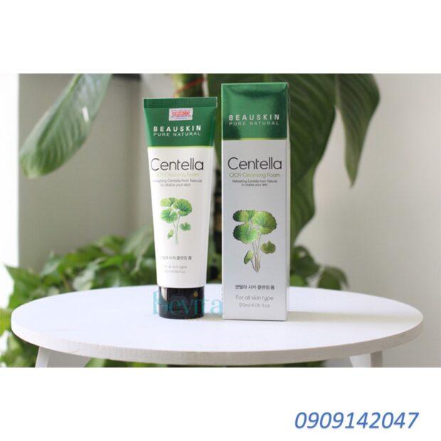 Sữa rửa mặt, dưỡng trắng da chiết xuất rau má Beauskin Hàn quốc (120ml)