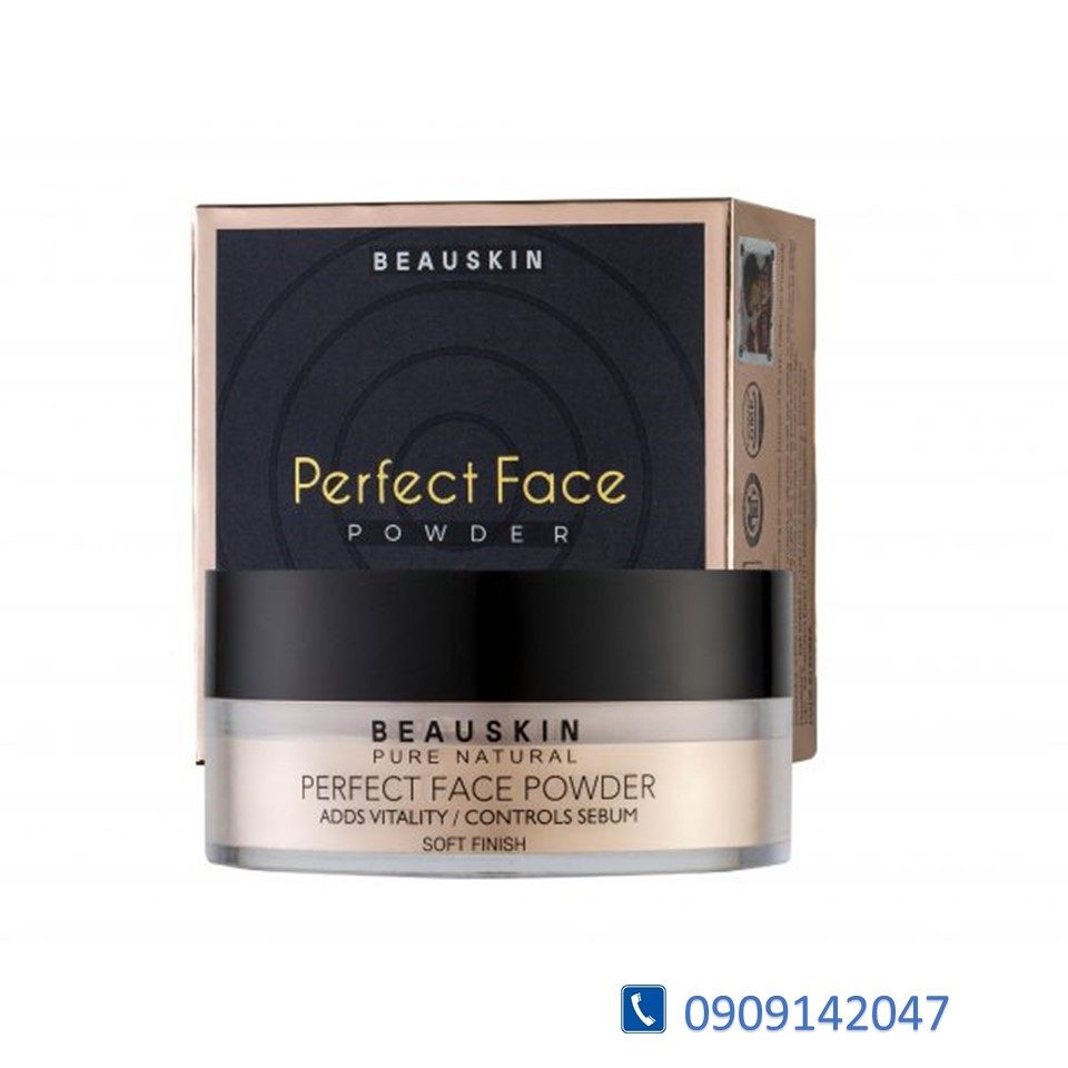 PHẤN PHỦ KIỀM DẦU DẠNG BỘT BEAUSKIN PERFECT FACE POWDER