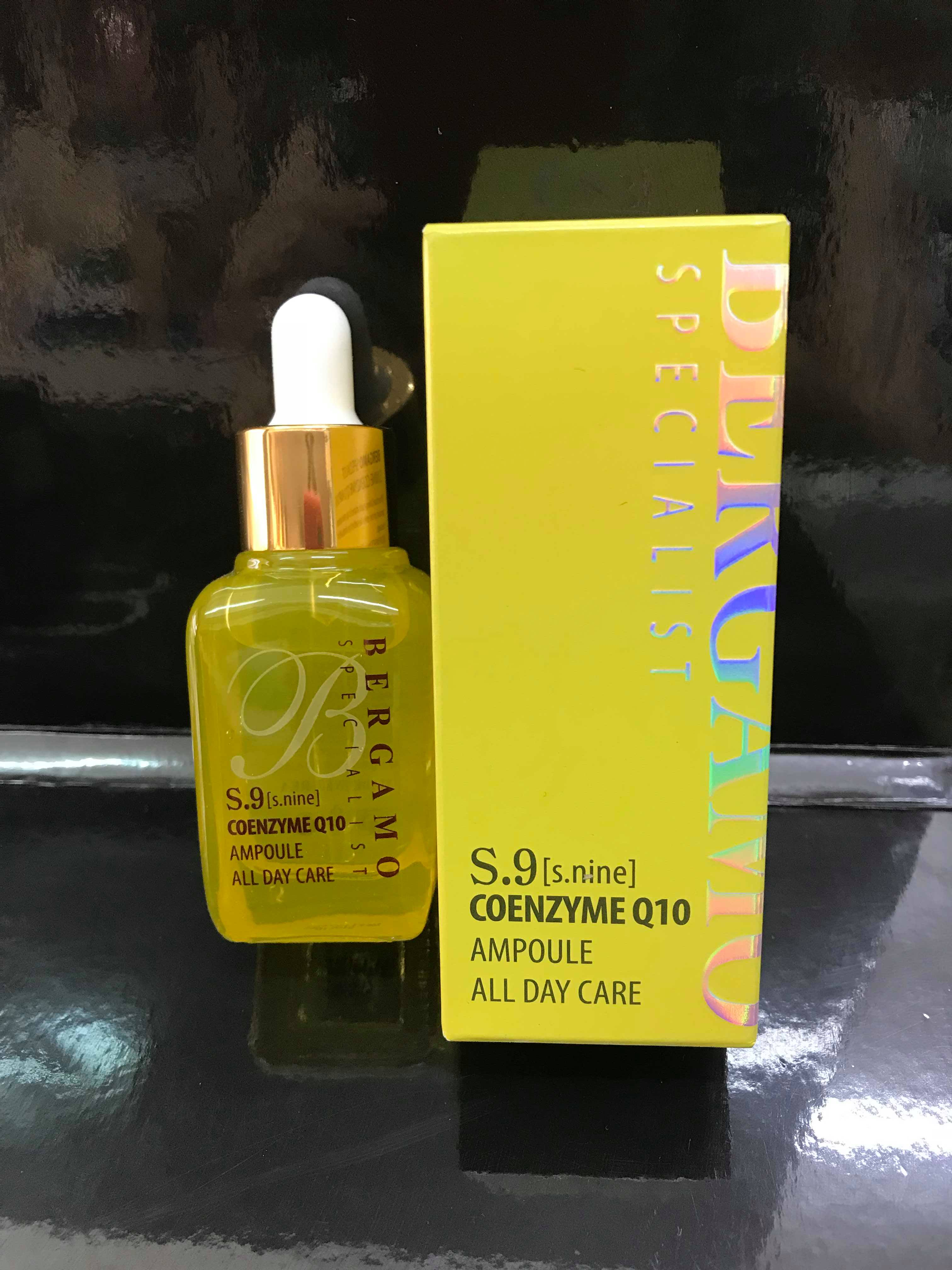huyết thanh bergamo vàng S9 coenzyme Q10- collagen