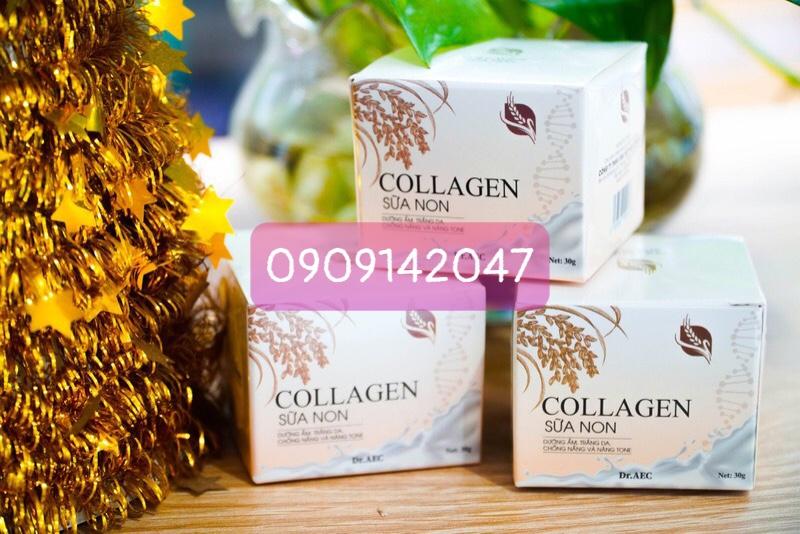 Kem collagen sữa non